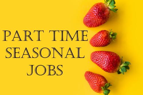 part time seasonal jobs